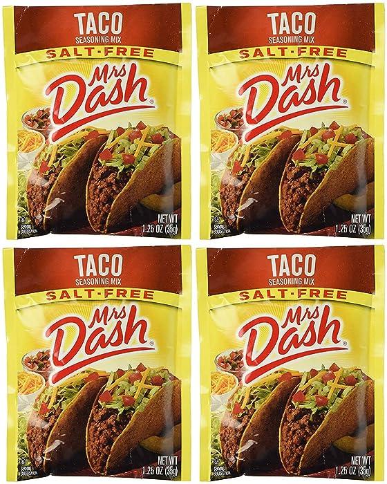 The Best Mrs Dash Taco Saltfree