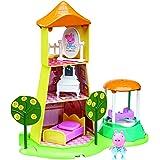 """Peppa Pig 06174""""Principessa Peppa del Giardino di Rose e"""" Torre da gioco"""