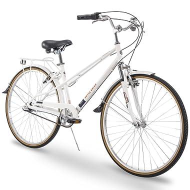 Royce Union 700c RMX Womens 3-Speed Commuter Bike, Aluminum Frame, White