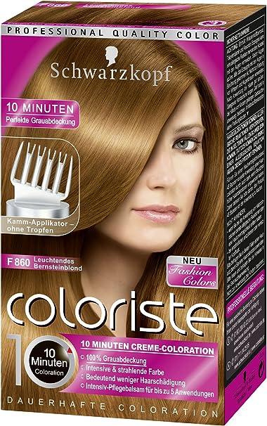 Schwarzkopf Coloriste 860 - Tinte brillante para el pelo ...
