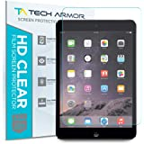 Tech Armor Anti-Glare/Anti-Fingerprint Film Screen Protector for Apple iPad Mini 1/2 / 3 [3-Pack]