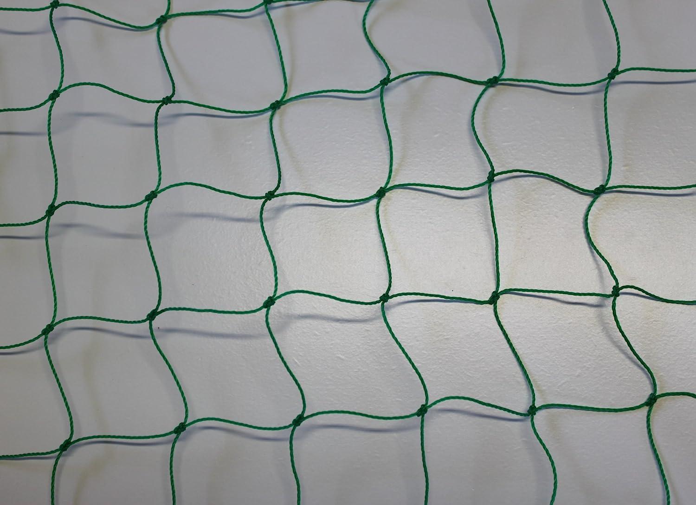Ballfangnetz - Ballnetz - Netz - grün - Masche 5 cm - Stärke  1,2 mm - Größe  5,00 m x 35 m