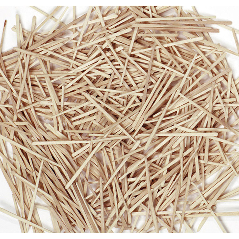Chenille Kraft 369001 Flat Wood Toothpicks, Wood, Natural, 2500/Pack (CKC369001) (CK-369001)