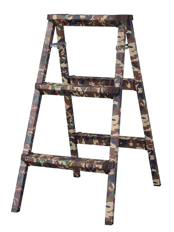 スツール 脚立 踏み台 ステップ台 折りたたみ 折り畳み 折畳み 腰掛椅子 いす イス 昇降台 3段 B0772RFVNK3段