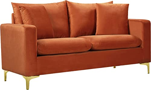 Meridian Furniture 633Cognac-L Naomi Collection Modern