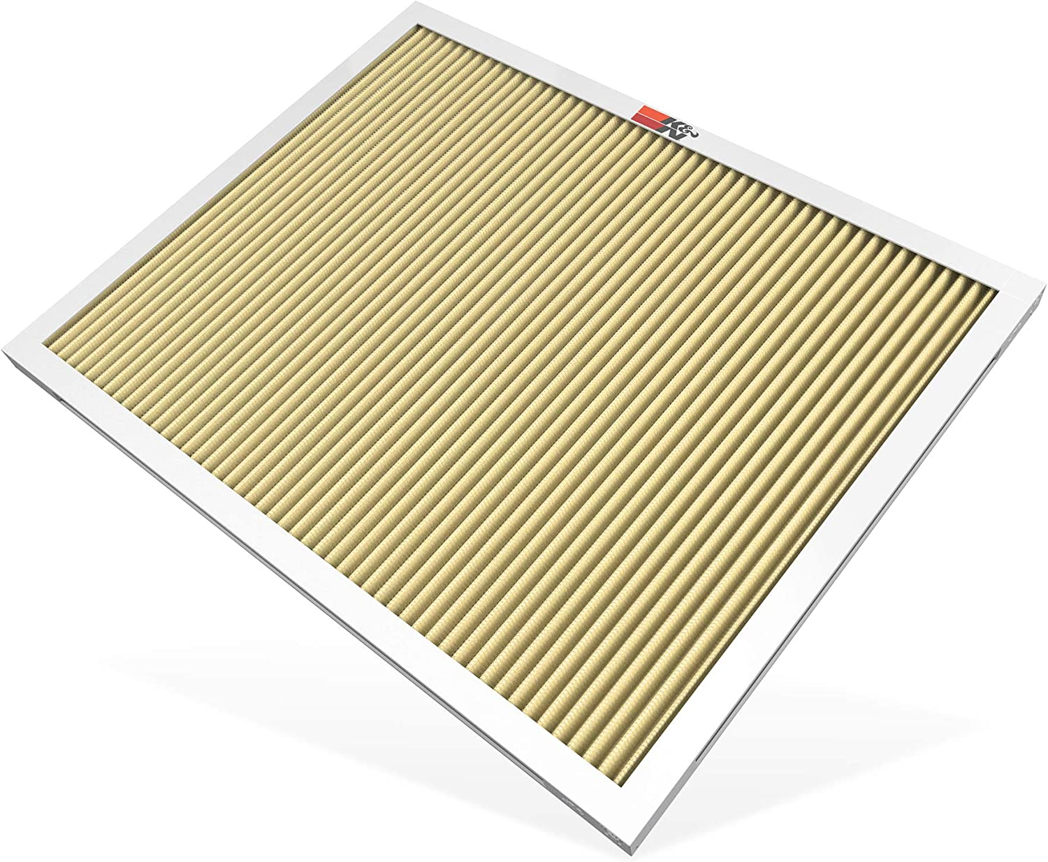 K&N 16x20x1 HVAC Furnace Air Filter; Lasts a Lifetime; Washable; Merv 11; Filters Allergies, Pollen, Smoke, Dust, Pet Dander, Mold, Smog, and More; Breathe Cleanly at Home, HVC-11620