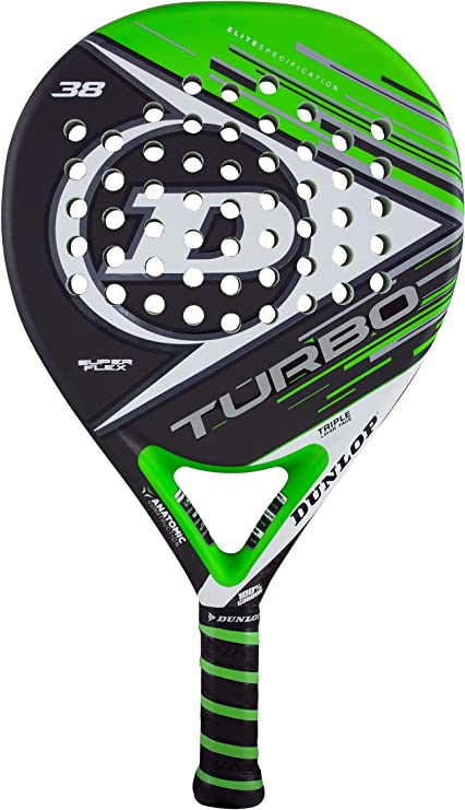 Dunlop TURBO SF - Pala de pádel 38mm, 2017, nivel avanzado ...