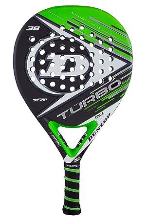 Dunlop TURBO SF - Pala de pádel 38mm, 2017, nivel avanzado/profesional, color verde/gris: Amazon.es: Deportes y aire libre