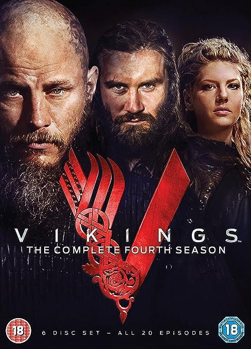 Vikings Season 4 izione: Regno Unito] [Import italien]