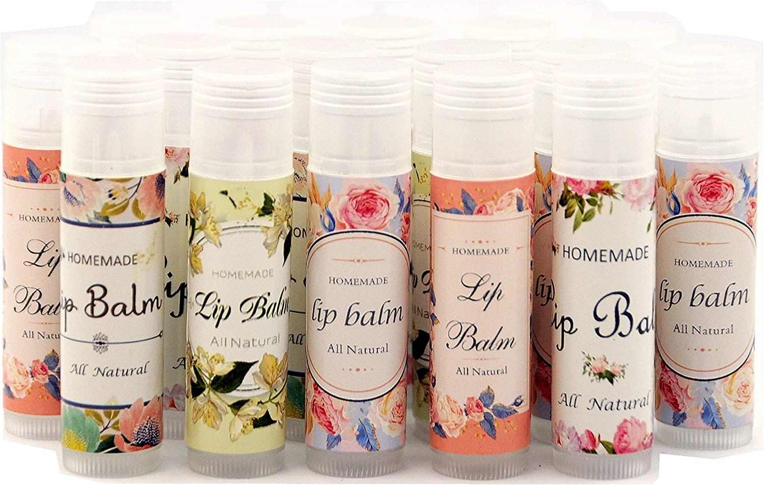 ZZYBIA Assorted Homemade Hand Cream Stickers Labels for