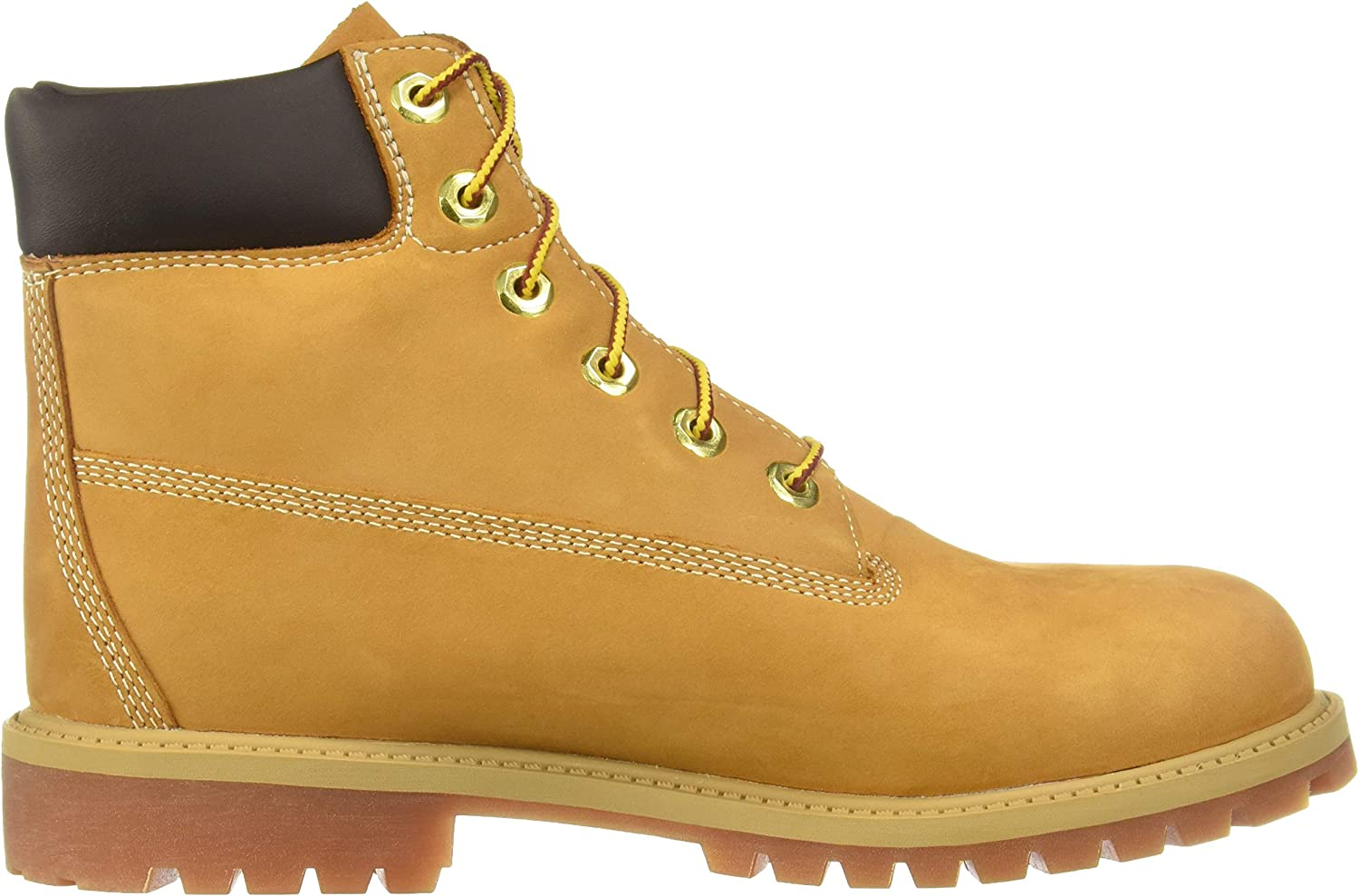 Timberland Classic FTC_6 in Premium WP Boot, Bottes Mixte Enfant Jaune (Wheat Nubuck)