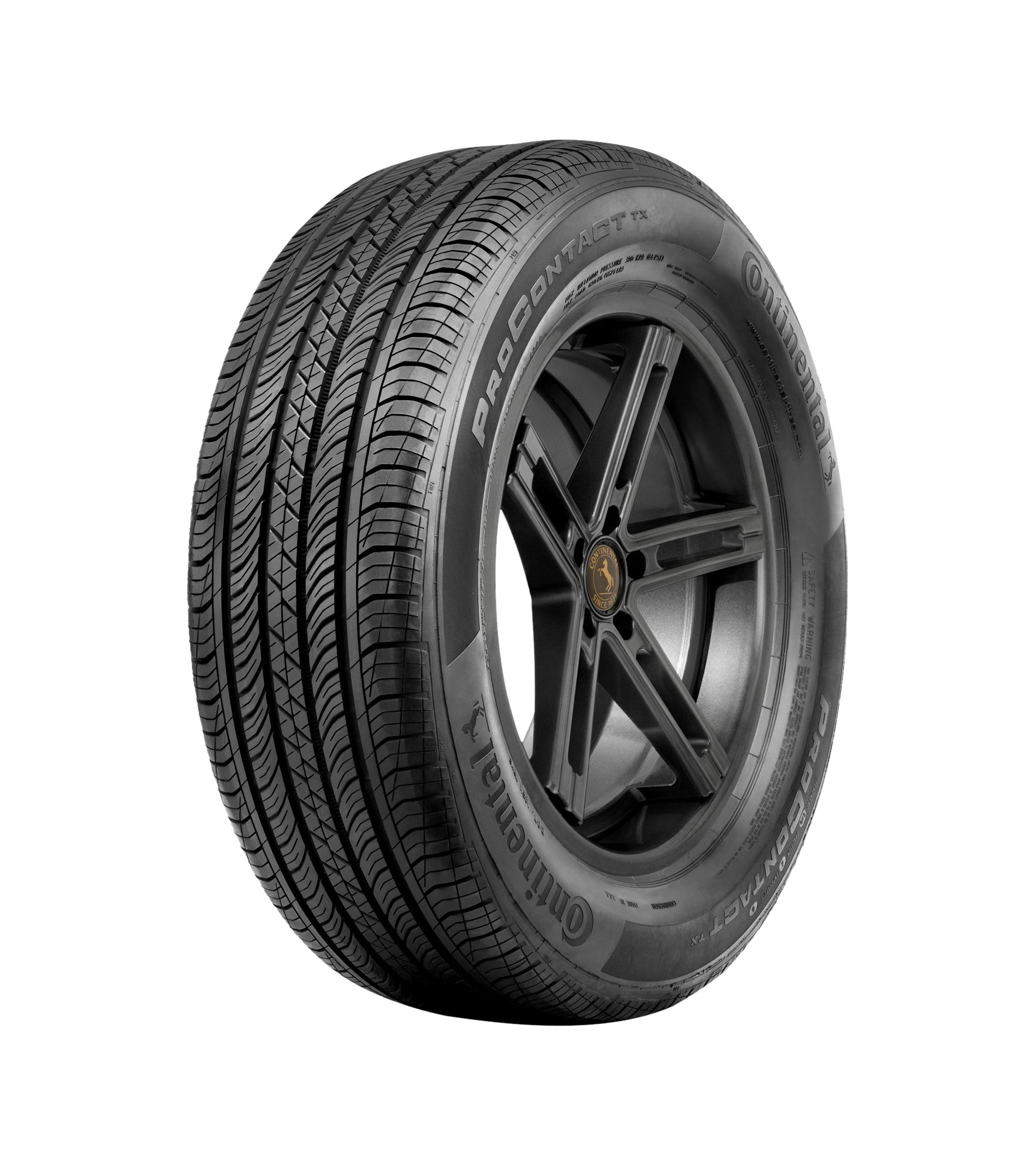 Continental ProContact TX Touring Radial Tire -195/65R15 91H