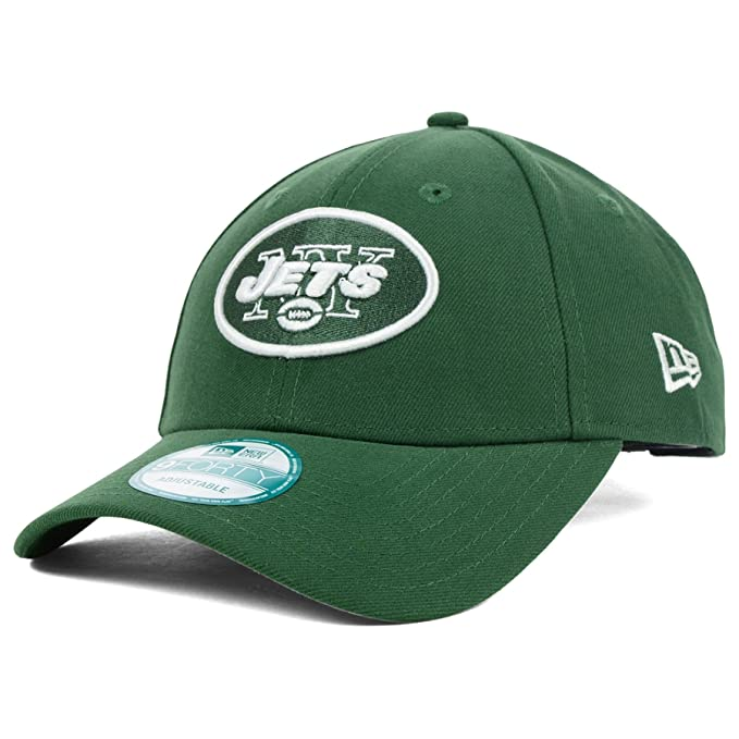 86ea7bdeabf6d7 New Era Men's New York Jets The League 9FORTY? Structured Adjustable Hat  Adjustable