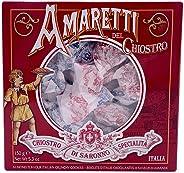 Amaretti Del Chiostro | Amaretti Di Saronno | Crunchy Italian Almond Cookies | Chiostro di Saronno 5.3oz Large Window Box 15