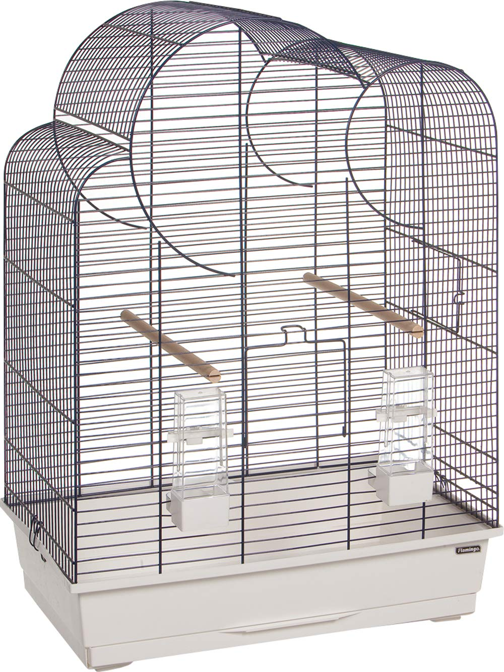 Flamingo Wammer Budgie Cage White bluee