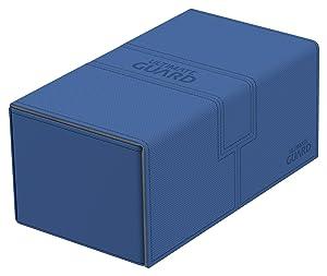 Ultimate Guard 200 Card Twin Flip N Tray Xenoskin Deck Case, Blue