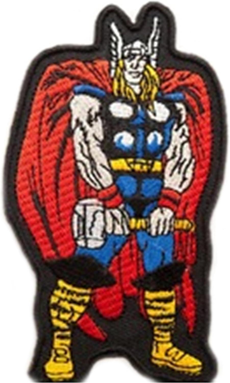 Parche bordado para coser o planchar dise/ño de superh/éroe de los Vengadores
