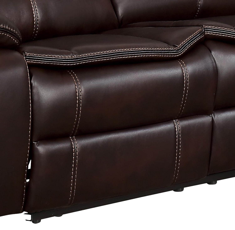 Amazon Homelegance Bastrop 3 Piece Reclining Sectional Sofa