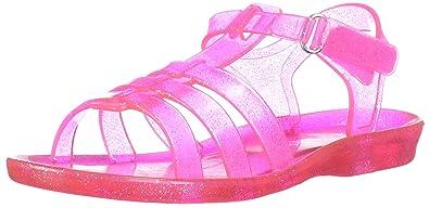 cd9513908089 Carter s Lexi Girl s Glitter Open Toe Jelly Sandal