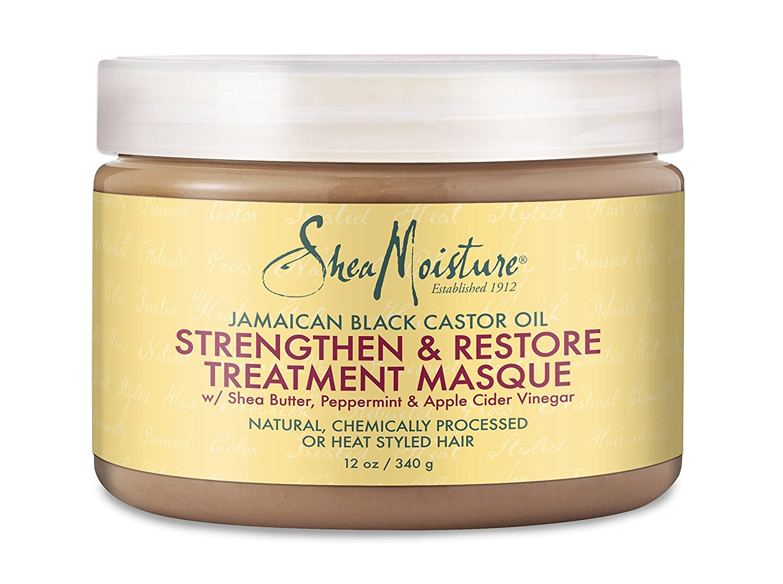 Image result for SheaMoisture® Jamaican Black Castor Oil Intensive Strengthening Masque