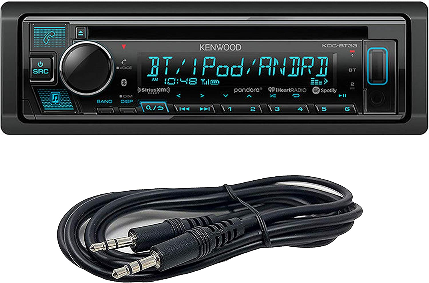[SCHEMATICS_4JK]  Kenwood KDC-BT555U in-Dash CD/MP3/USB Car Stereo Receiver with Bluetooth:  Amazon.ca: Cell Phones & Accessories | Kenwood Kdc Bt555u Wiring Diagram Cd Reciver Model |  | Amazon.ca