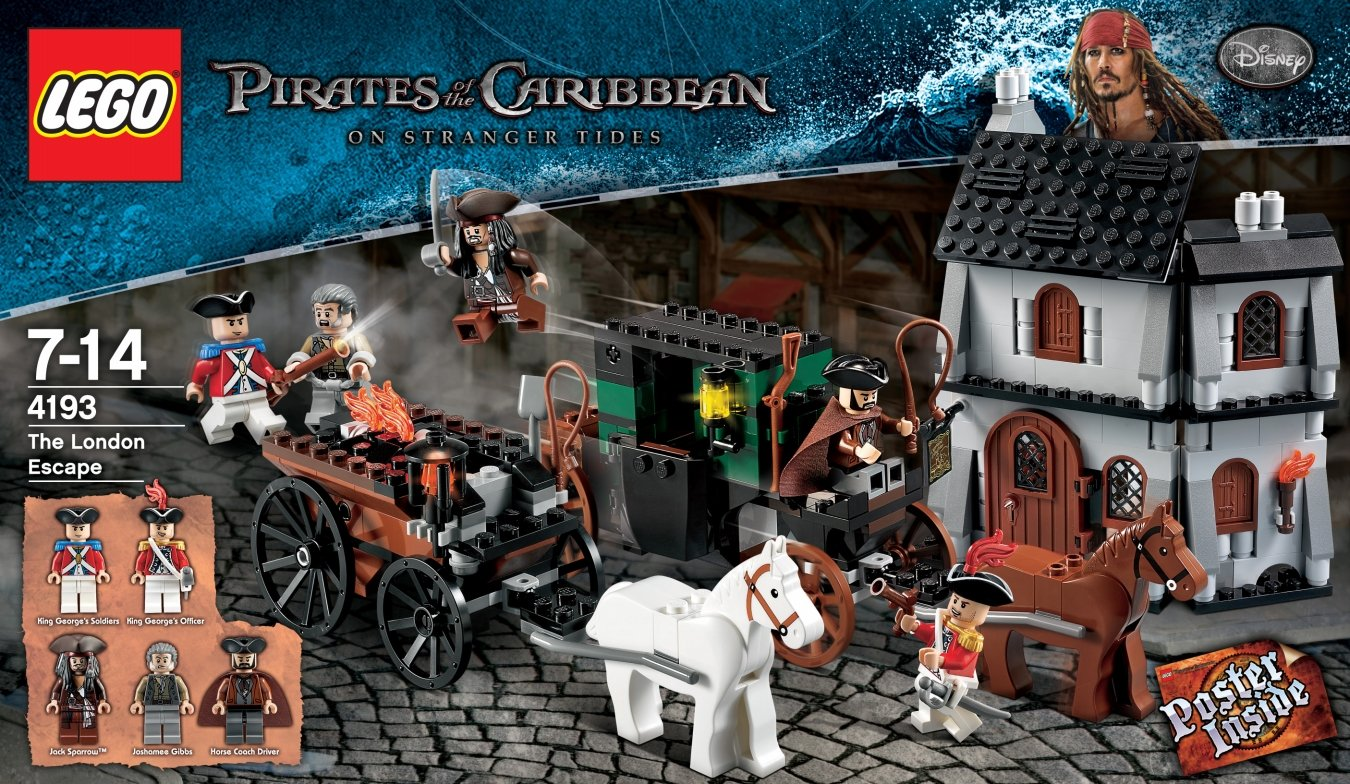 Top 9 Best Lego Pirates of the Caribbean Reviews in 2020 5