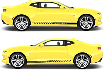 Choose Color Chevrolet Camaro 2010-2015 Racing Sport Side Stripes Decals