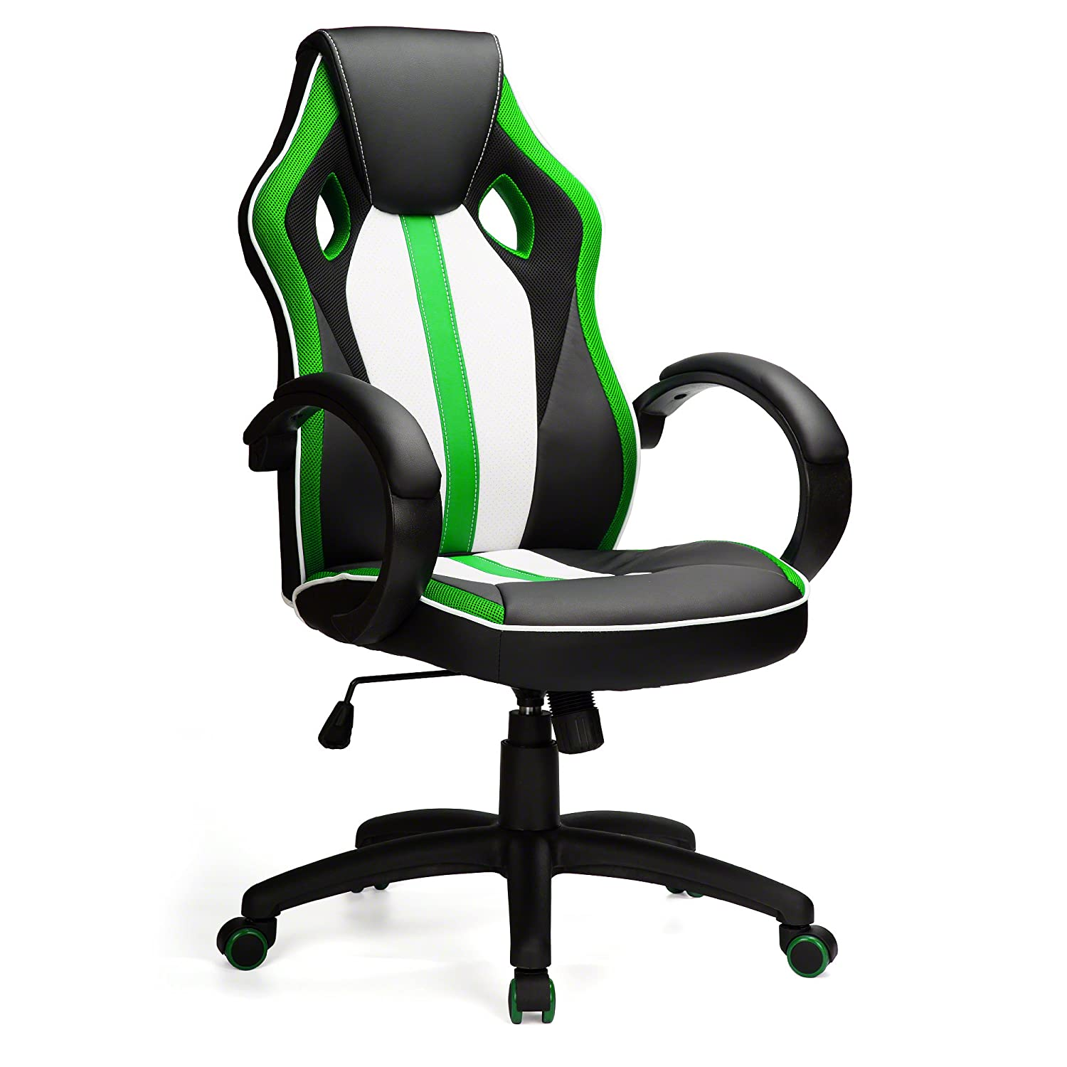 Office Chair Racing Design Gaming Gamers Computer Desk Chair (Green) AGTC LTD.