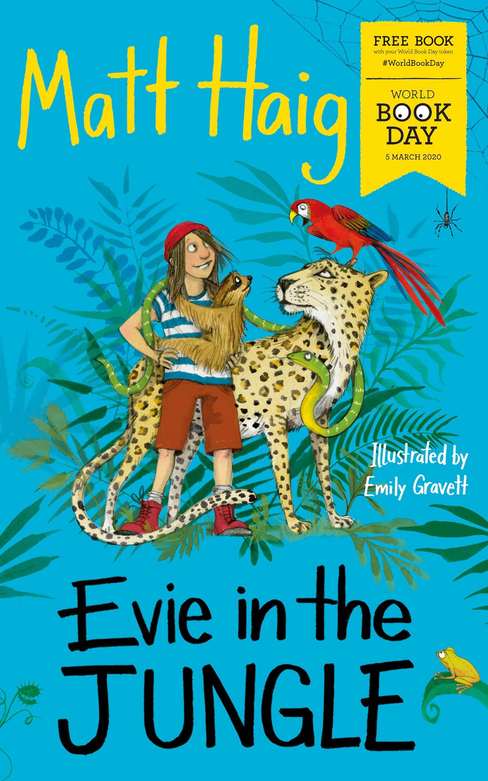 Evie in the Jungle: Amazon.co.uk: Haig, Matt, Gravett, Emily: Books