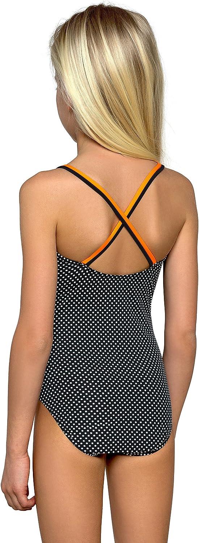 Girls Kids Swimsuit Childrens Swimwear Swimming Costume Beachwear NEW 7-12 years