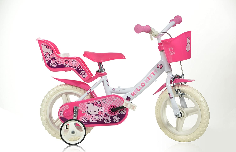 Dino Bikes - Bicicleta infantil (neumáticos de 12
