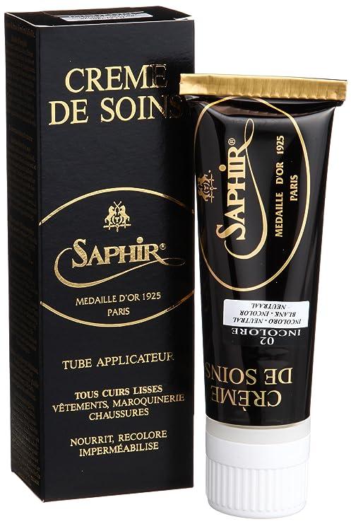 Saphir - Betún y reparación de zapatos , incoloro (incoloro), 75 ml