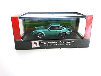 Porsche 911 Turbo 1975 1:43 - LES VOITURES MYTHIQUES de DOMINIQUE CHAPATTE - DIECAST