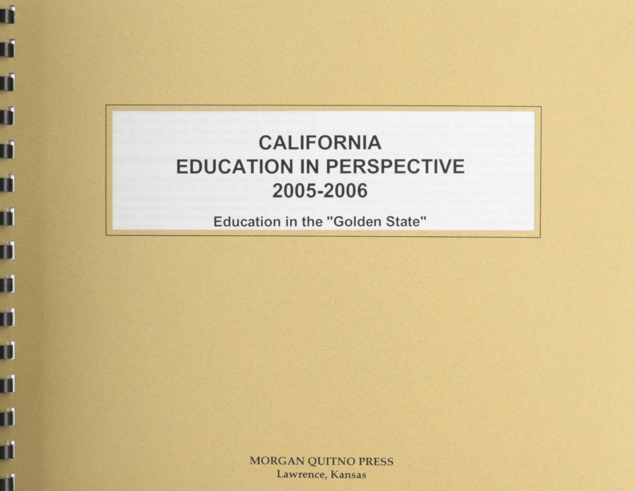 Download California Education in Perspective 2005-2006 pdf epub