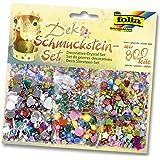 folia 12419 - Schmucksteine-Set, über 800 teile, farben sortiert