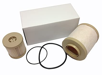 ford 6 0l 2003-2007 4604 diesel fuel filter pack includes lower lifter pump  filter