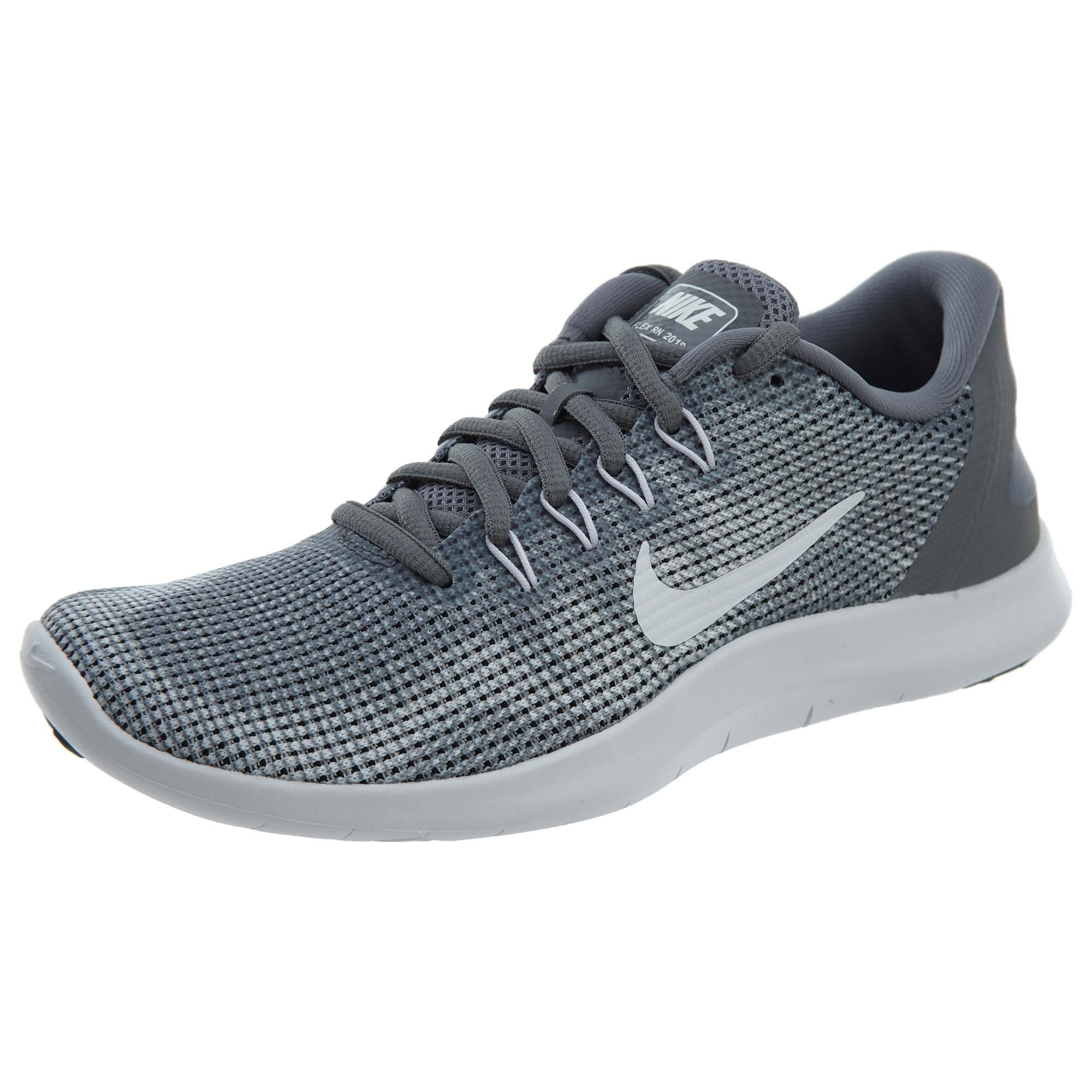 competitive price d762c fbdef Galleon - NIKE Women s Flex Run 2018 Running Shoes (6.5 B(M) US, Cool Grey  White)