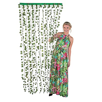 Ivy Poly Hanging Greenery Curtain - Party Decor - 1 Piece: Toys & Games