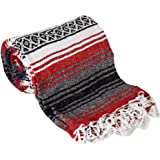 Mexican Style Falsa Yoga Blanket (Red)