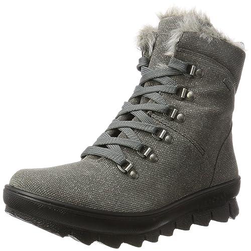 LegeroNovara - Stivali da Neve Donna, Grigio (Stone Kombi), 37 EU (
