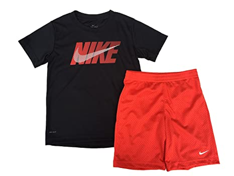 74ea592b Image Unavailable. Image not available for. Color: Nike Dri-Fit Little Boys  Two Piece Tee Shirt ...