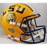 LSU Tigers Gridiron Gold Officially Licensed Full Size XP Replica Football Helmet