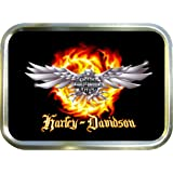 HARLEY DAVIDSON 2oz GOLD TOBACCO TIN,BACCY TIN,PILL TIN,FISHING TIN,SEWING TIN