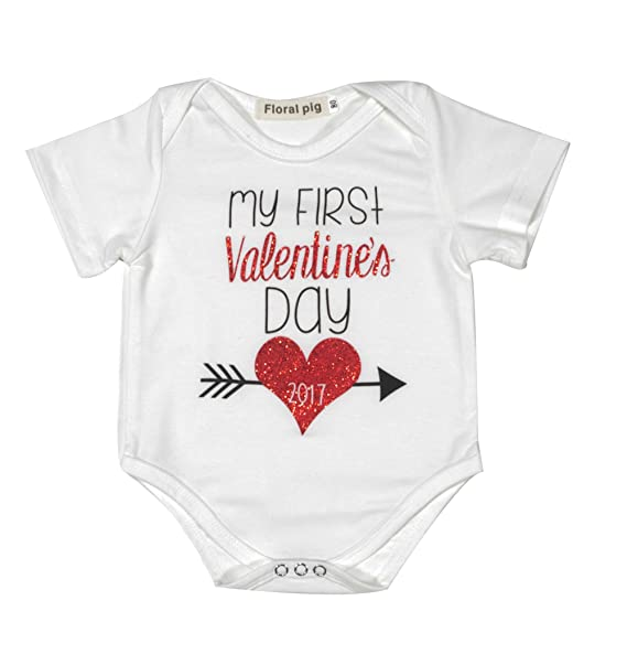 Amazon.com: Bebé recién nacido niños niñas Primer Día De San ...