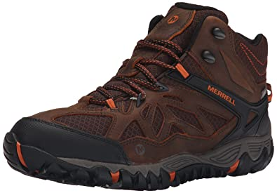 Men's Merrell All Out Blaze Vent Mid Waterproof Hiking Boots Sodalite A24y5024