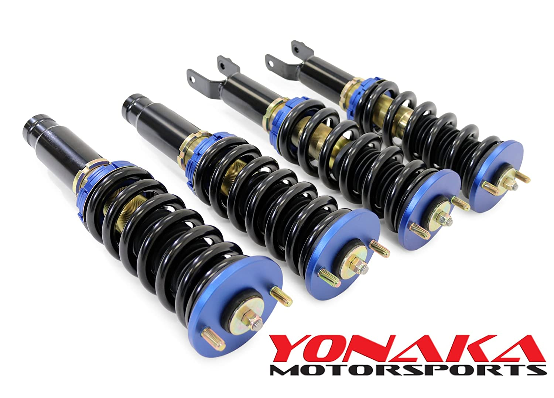 Yonaka Honda Civic 92-95 EG 93-97 Del Sol Spec 1 Full Coilovers Suspension DRAG RACE Version