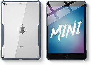 TineeOwl iPad Mini 5 / 4 Ultra Slim Clear Case, Flexible TPU, Absorbs Shock, Lightweight, Thin (Navy Blue)