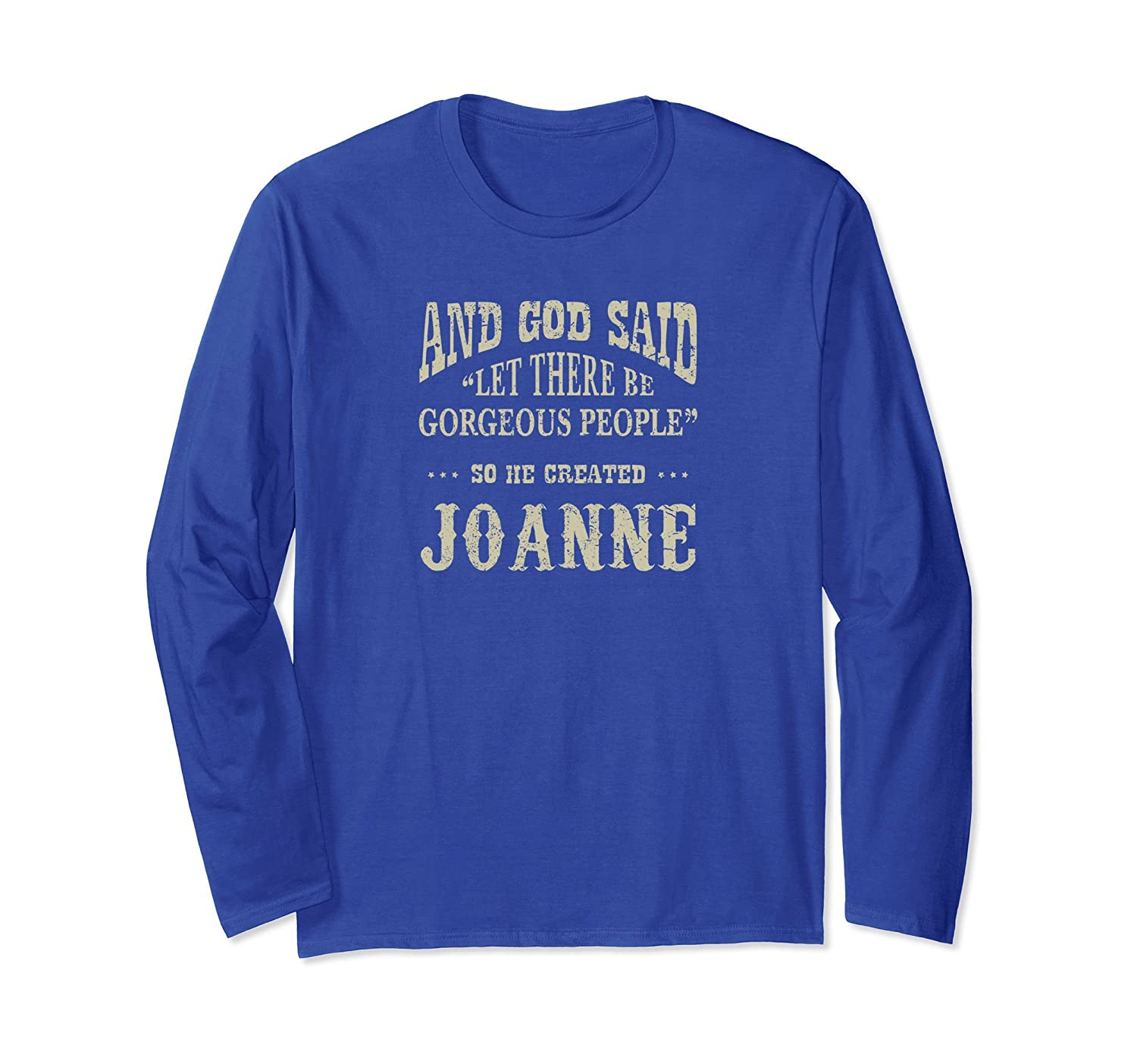 Personalized Longsleeve Birthday Gift For Joanne-mt