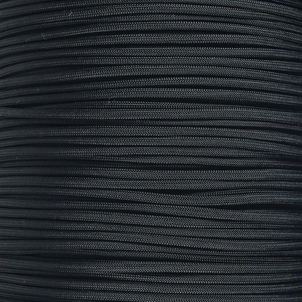 550 Paracord – 550LB 7-Strand Twisted Inner Core Parachute Cord – Over 250+ Color Choices – Multiple Length Options (Hanks & Spool)