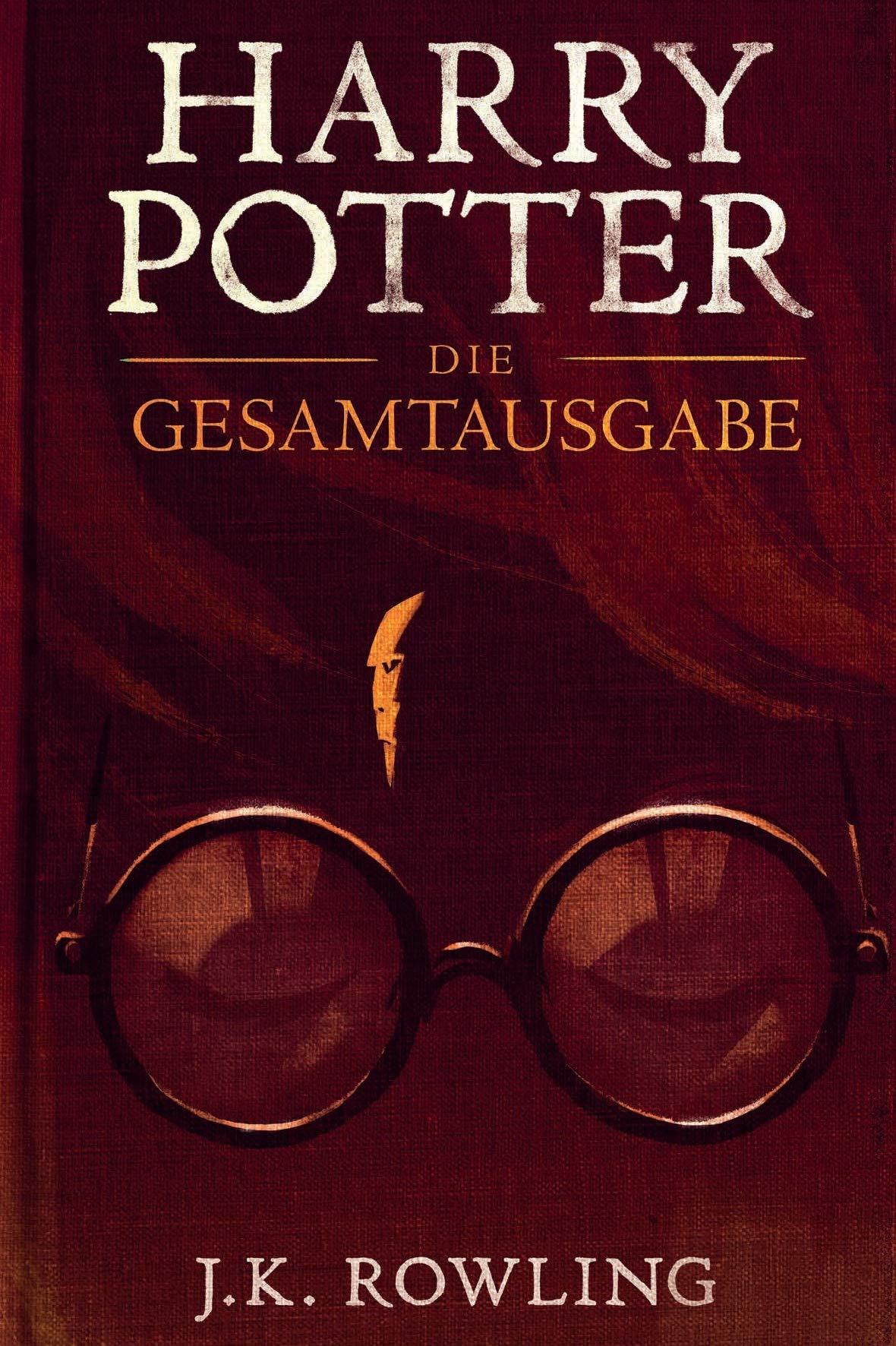 Amazon Com Harry Potter Die Gesamtausgabe 1 7 German Edition Ebook Rowling J K Carlsen Fritz Klaus Kindle Store